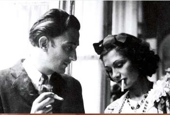 "Arthur Edward ""Boy"" Capel con Coco Chanel"