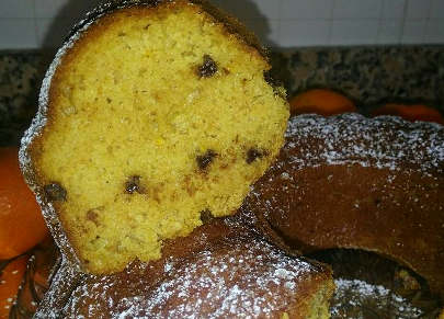 Ciambellone integrale all'arancia 4
