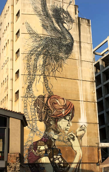Faith47 street art dal Sud Africa