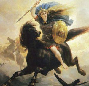 Donna capo guerriera vichinga