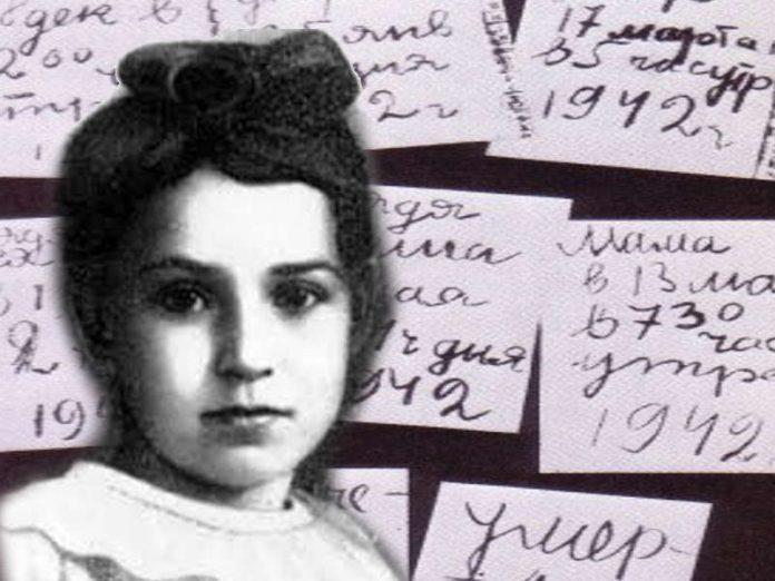 Il diario della russa Tanya Sávicheva