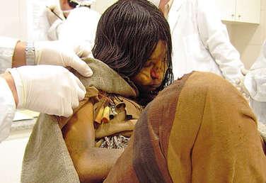 Mummia Donzella delle Ande
