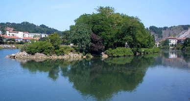L'Isola dei Fagiani condivisa da Francia e Spagna 1