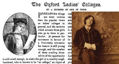 Oscar Wilde e The Woman's World