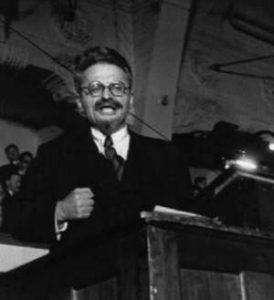 Robert Capa, Endre Friedmann foto a Trotsky
