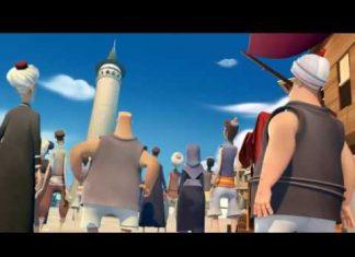 Hezarfen, l'uomo che volò sopra il Bosforo e il suo cartone animato