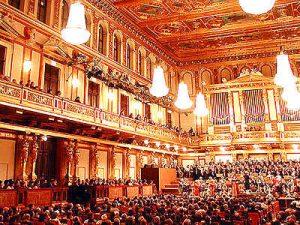Orchesta concerto di Capodanno a Vienna