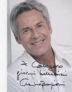 Claudio Baglioni, grafia e biografia