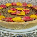 Crostata di semola integrale con cotto e melanzane 1