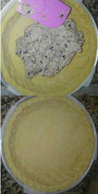 Crostata di semola integrale con cotto e melanzane 5