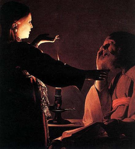 Georges de la Tour Il sogno di san Giuseppe