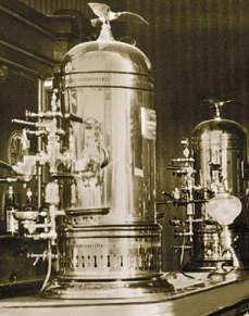 La macchina del caffè espresso 1