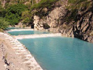 Le grotte di Tolantongo fiume