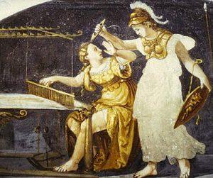 Pallade Atena e Aracne 2