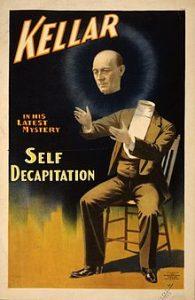 Harry kellar cartellone pubblicitario