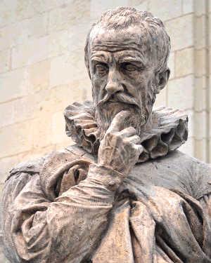 Ambroise Paré statua