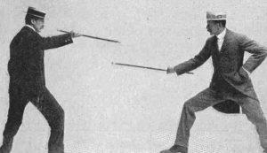 Bartitsu, posizioni dell'arte marziale