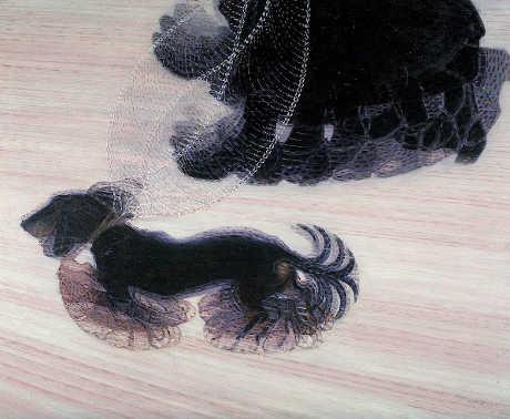 Giacomo Balla Dinamismo di un cane al guinzaglio