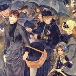 Gli ombrelli di Pierre Auguste Renoir
