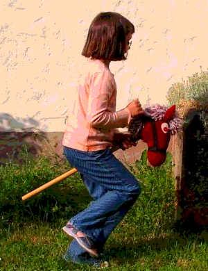 Hobby Horsing: un cavallo di legno