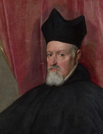 Il rosso carminio nell'arte, 1 Ritratto di Fernando de Valdés