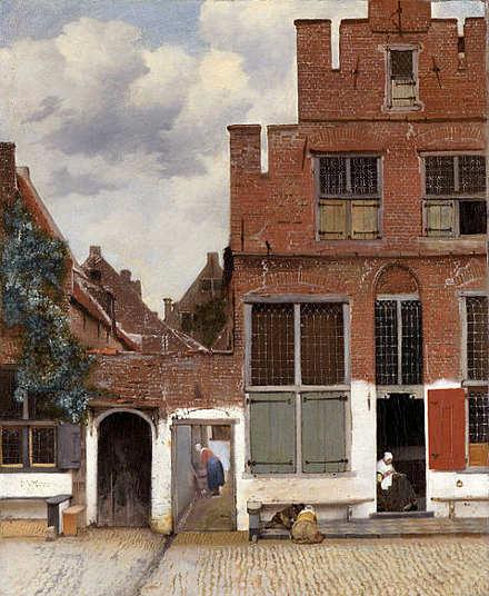 di Jan Vermeer La Stradina di Delft