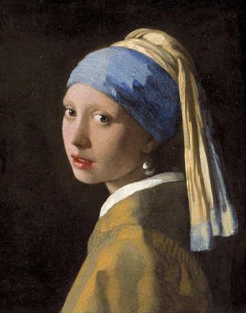 Jan Vermeer La Ragazza col turbante o Ragazza con l'orecchino di perla