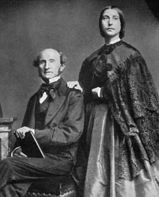 Stuart Mill e Harriet Taylor