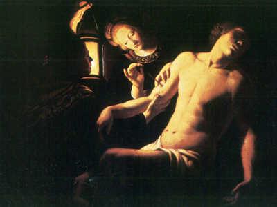 Trophime Bigot , il maestro della candela, magdalena penitente