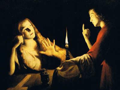 Trophime Bigot il maestro della candela, maria maddalena 2