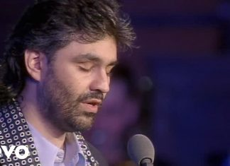Con te partirò testo e video di Andrea Bocelli
