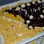 tronchetto mimosa al cioccolato