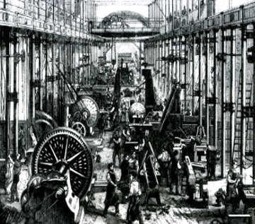 I contrasti in epoca vittoriana industrializzazione