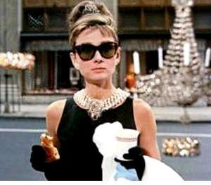 Immagini bellezza di Audrey Hepburn Colazione da Tiffany