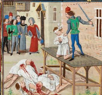 Jeanne de Belleville la morte di Olivier de Clisson IV