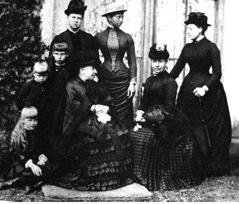 L'emofilia e la regina Vittoria I d'Inghilterra e alcuni discendenti