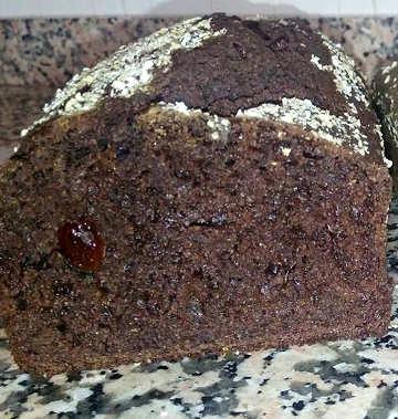 Plumcake integrale con cacao, rhum, mirtilli e zucchero di cocco 3