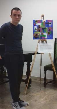 Samuele Gamba, mostra personale 2018