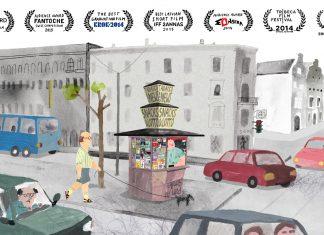 Il Chiosco, una leggera favola moderna in un video