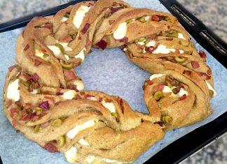 Angelica integrale salata con pochi grassi