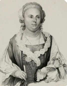 Anna Morandi Manzolini, ritratto