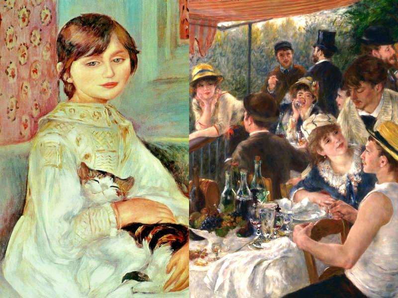 Due quadri di Renoir 1