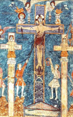 Ende la crocifissione Beato di Girona