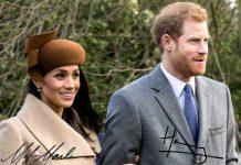 Firme principesche: Harry e Meghan Markle