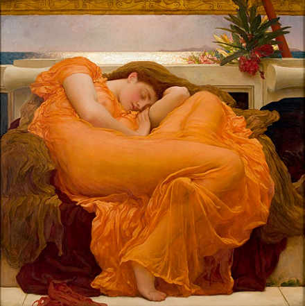 Frederic Lord Leighton Flaming June 1