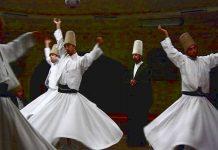 La danza dei dervisci rotanti