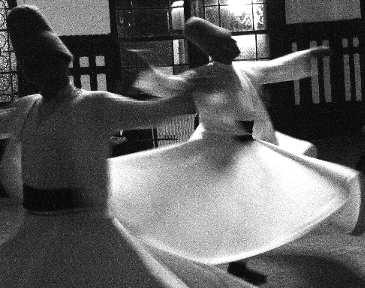 La danza dei dervisci rotanti la sama