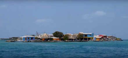 L'isola di Santa Cruz del Islote 3 a