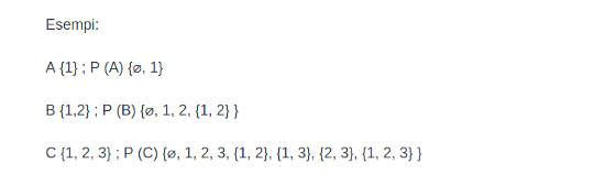 il teorema di Cantor 3 esempi
