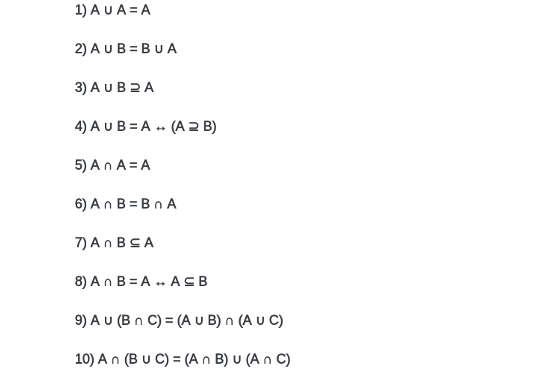 il teorema di Cantor 5 espressioni